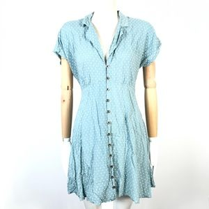 Kimchi blue dress polka dots